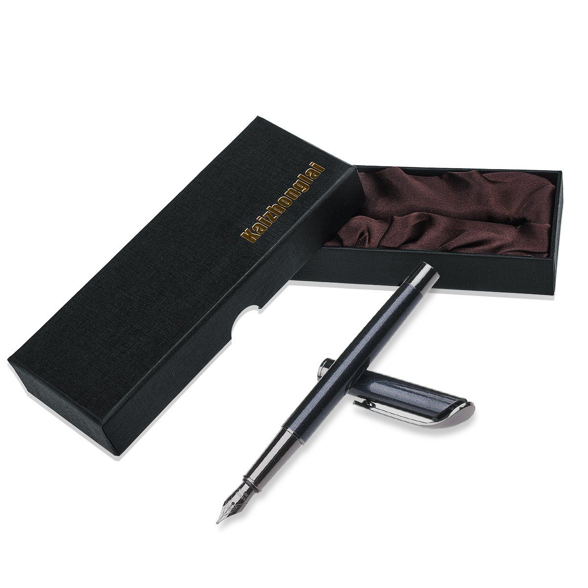 bedcff481fad Fountain pens office writing set with gift box fashion collection with Ink  Refill Converter Fountain pen Black *** You can get more details by  clicking on ...
