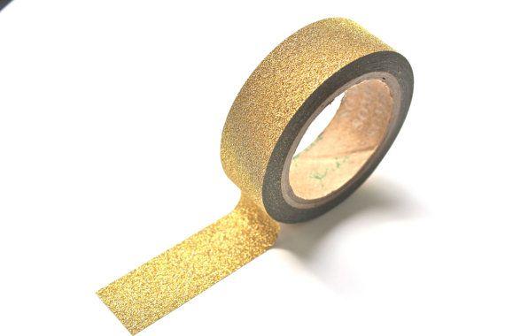 Gold Sparkle Washi Tape