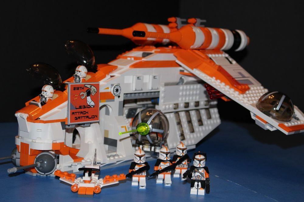 LEGO® brick STAR WARS™ 75021 PHASE I 212th ORANGE REPUBLIC GUNSHIP ...