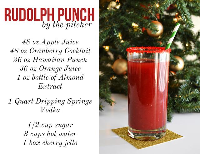 Rudolph Punch christmas christmas recipes alcohol recipes ...