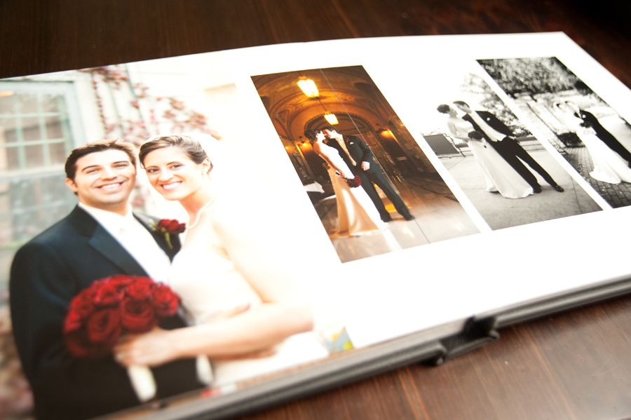 Flush Mount Wedding Album Minneapolis Photographer Twin Cities