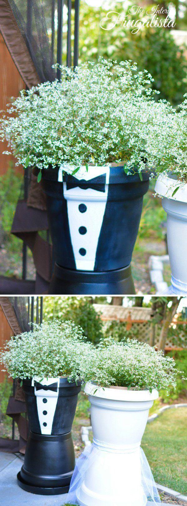Idee Per Vasi Da Fiori oltre 40 idee per vasi da fiori fai-da-te | versierde