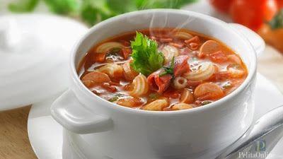 Resep Sup Tomat Makaroni Resep Masakan Dan Kue Lengkap Sup Tomat Daging Asap Resep Sup