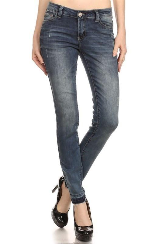 Lena Low Rise Jeans
