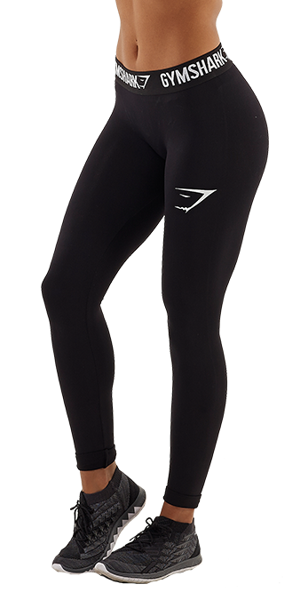 Gymshark Form Running Leggings - Black/White