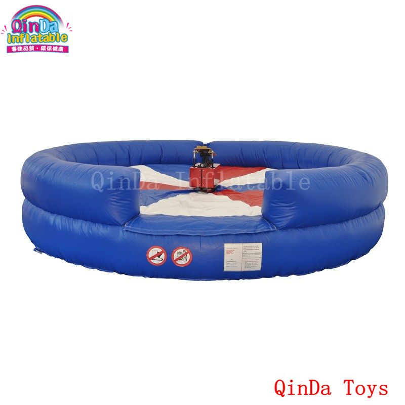 Sports Game Inflatable Mat For Bull Riding,diameter 4m