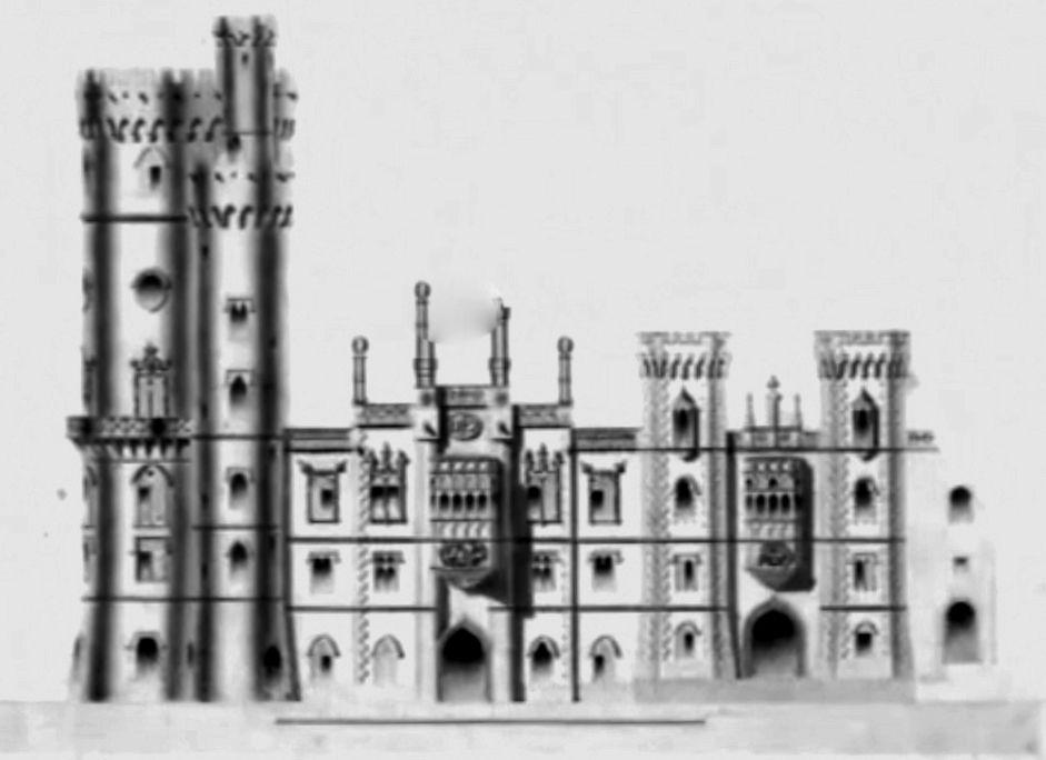 Projecto para o Palácio da Pena