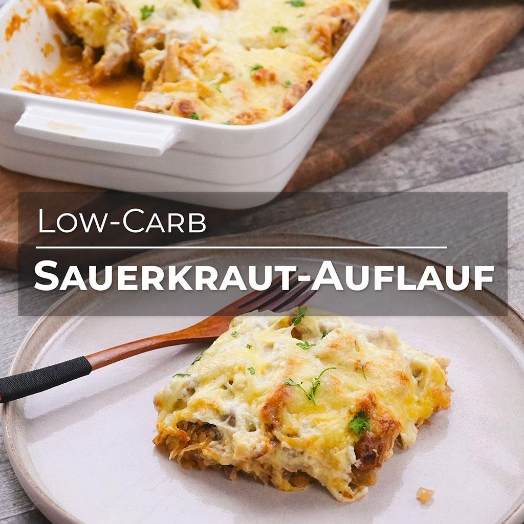 Sauerkraut-Auflauf 🤩 🧡 herrlich lecker & Low-Carb