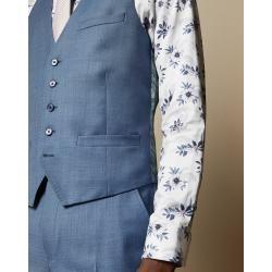 Photo of Debonair Wool Suit Waistcoat Ted Baker