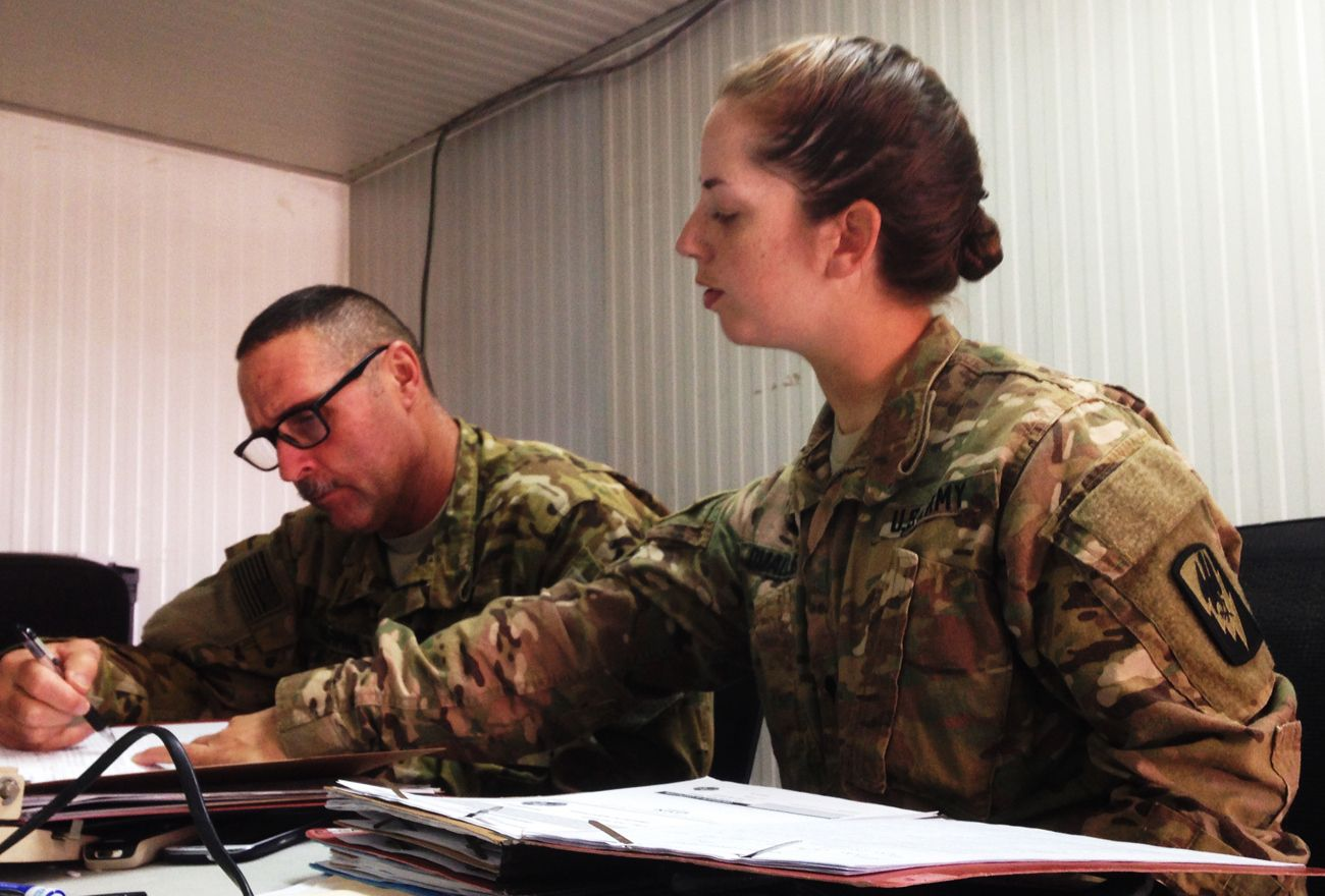 Guard Skills Launch New Careers As Mos 92a Automated Logistical