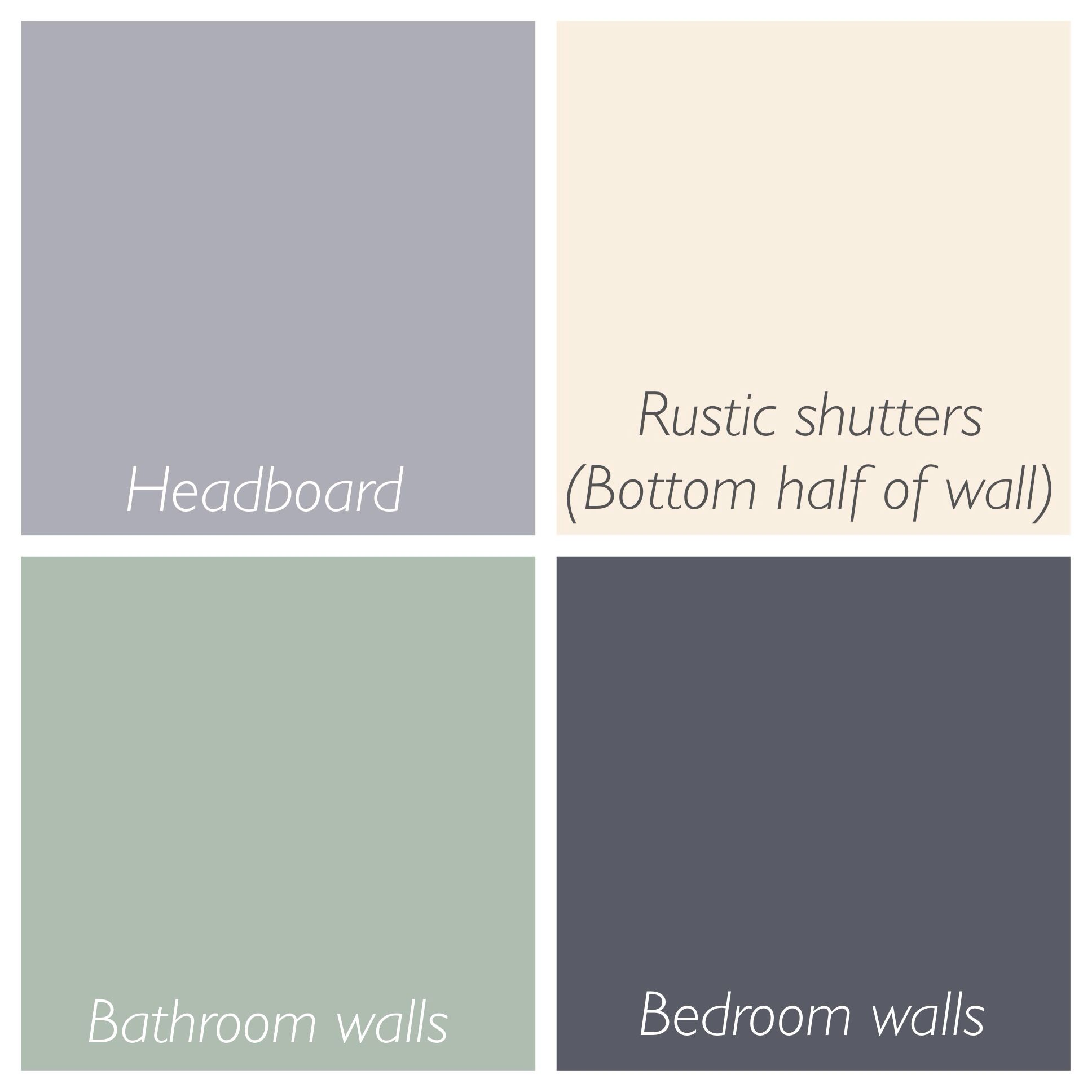 Behr Color Scheme For Master Bed Bathroom Gray Timber Wolf Angel Food Southern Breeze And Distant Thunder