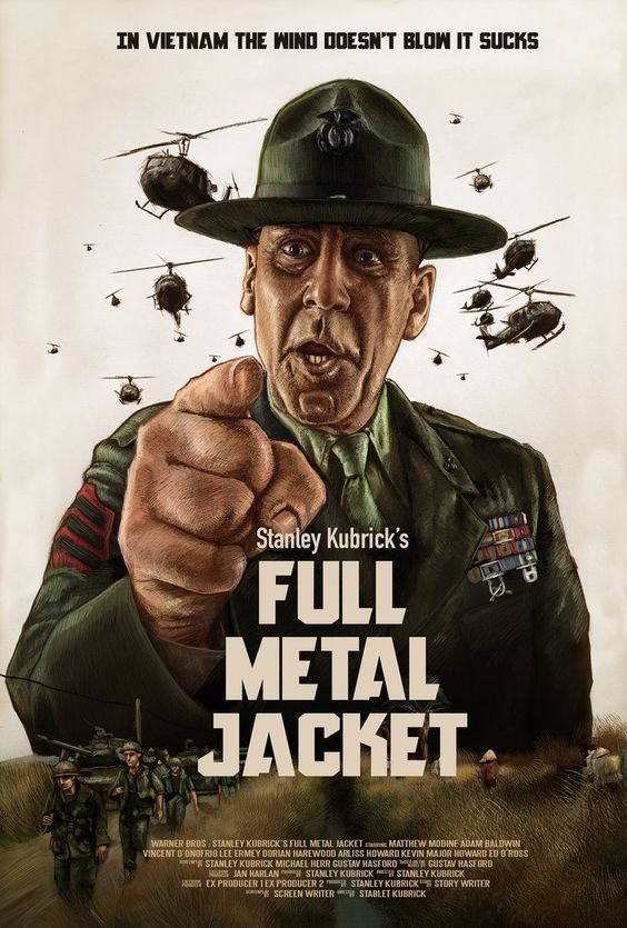 Full Metal Jacket Un Official Movie Posters In 2019