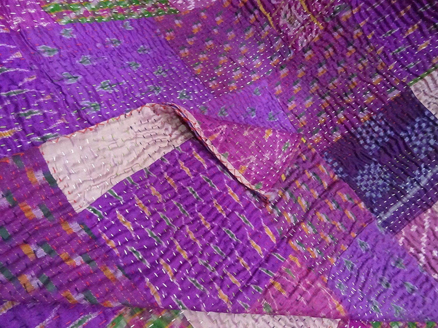 Luxury Silk Quilts Cheap Sale   Quilted throws, Kantha quilt and ... : quilt throws cheap - Adamdwight.com