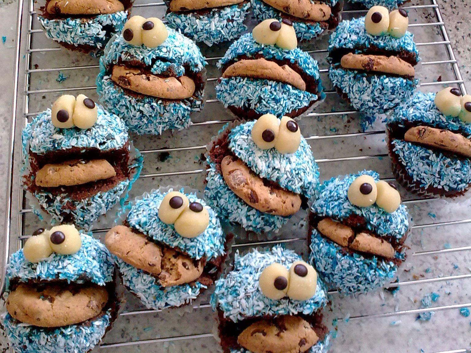 Krümelmonster-Muffins - smarter - Zeit: 2 Std.   eatsmarter.de