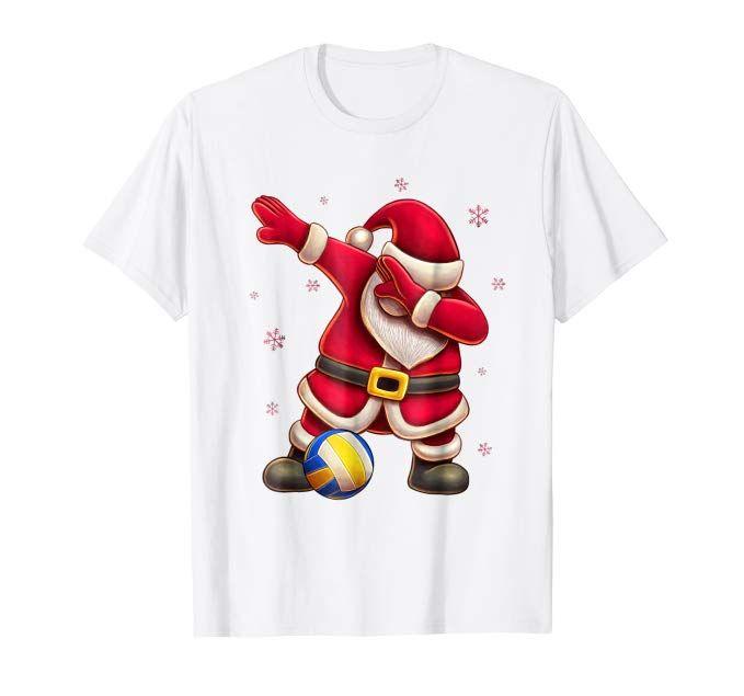 1f8495d7 Volleyball Dabbing Santa Shirt - Santa Dab Christmas Tshirt - Volleyball Dabbing  Santa Shirt is a