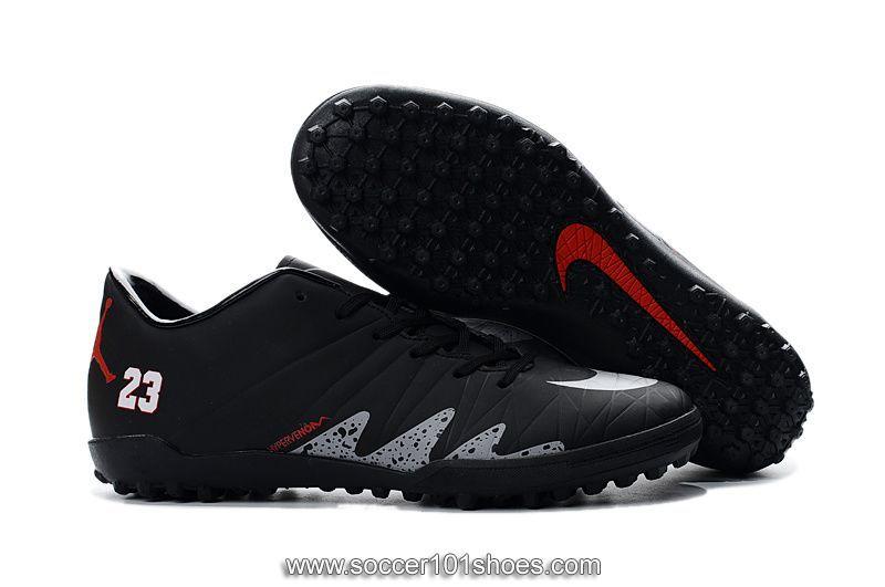 the best attitude 6c612 d55d1 Nike Men's Hypervenom Phelon II TF NJR×JORDAN Turf Football ...