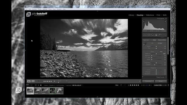 How to change background color in lightroom