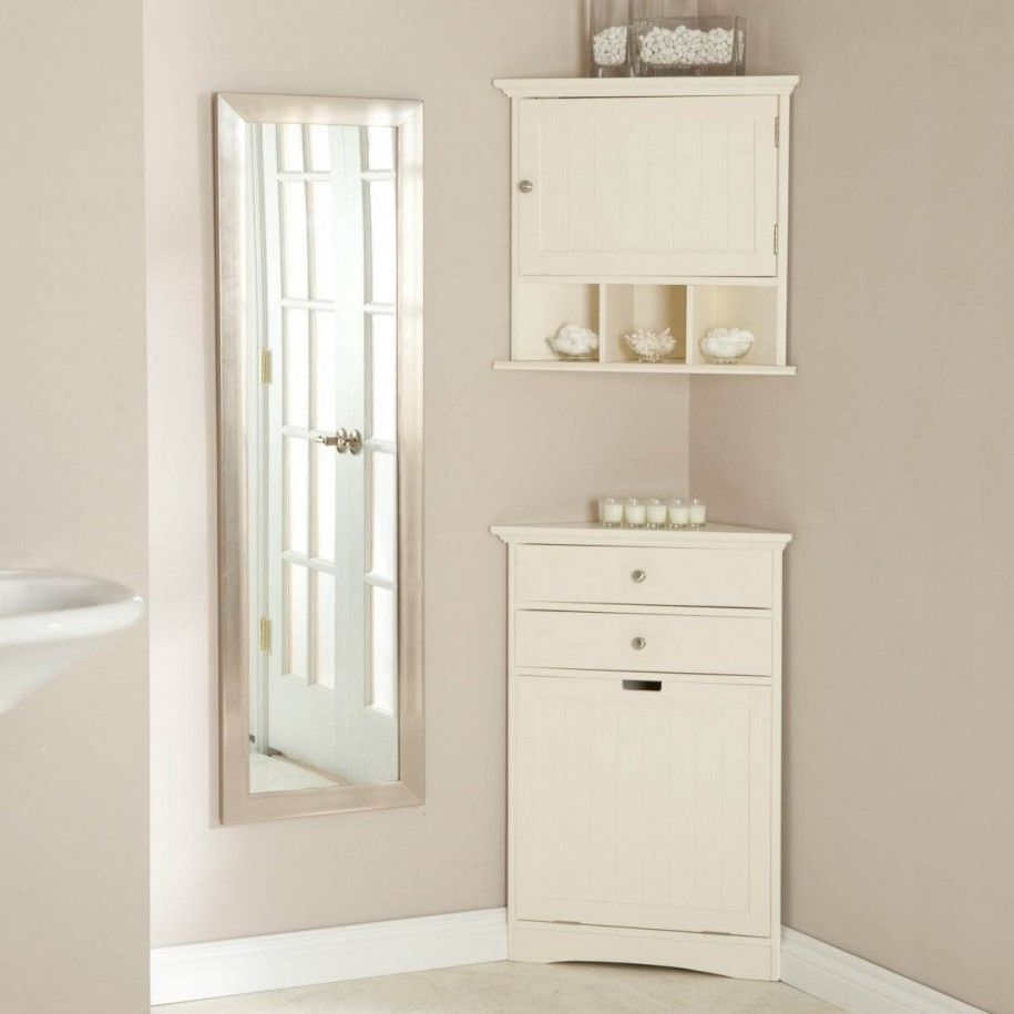50+ White Corner Bathroom Cabinet - Interior Paint Color Ideas Check ...