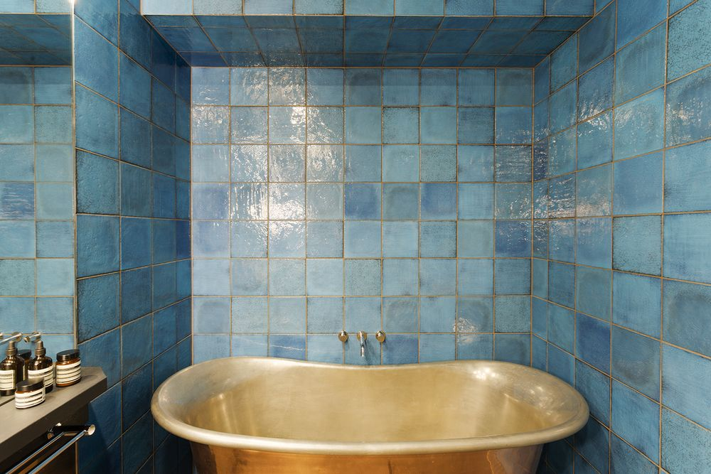 Decorator Tiles Bathroom Designinterior Designer Meredith Lee Photo