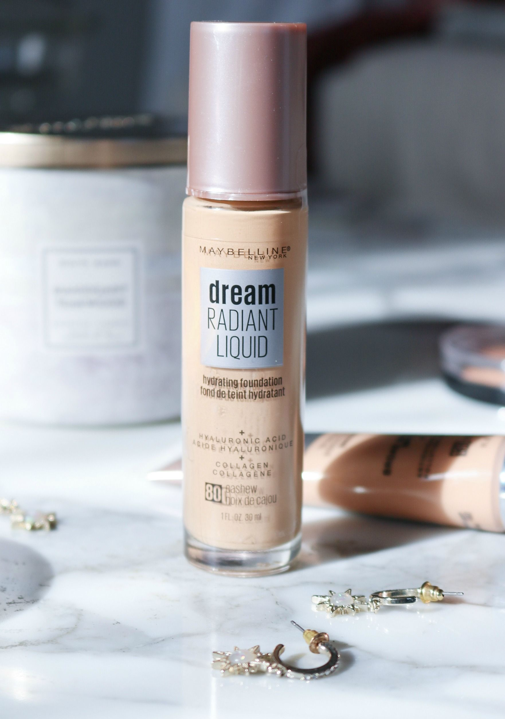 Maybelline Dream Radiant Liquid Foundation Review I