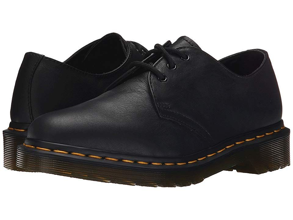 Dr.Martens 1461 3 Eyelet Smooth Black Brown Mens Casual Leather Virginia Shoes