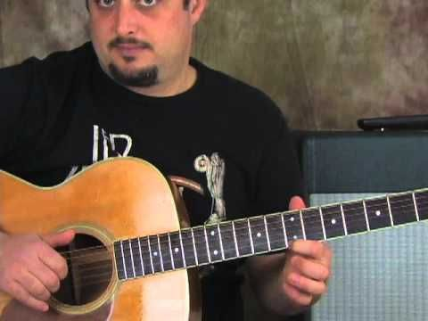guitar lesson - how to play nothing else matters pt1 - metallica ...