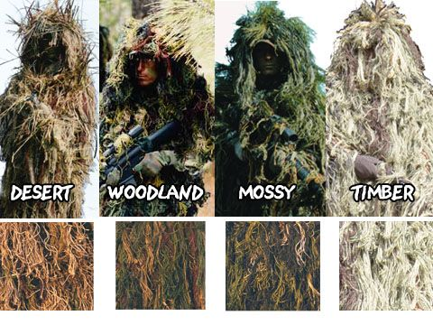 How To Make Your Own Ghillie Suit
