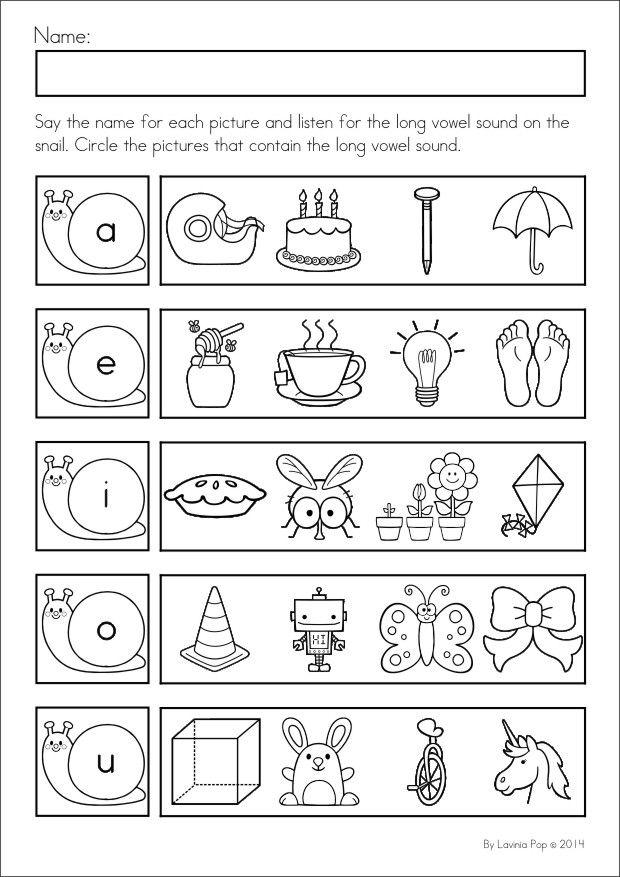 Spring Kindergarten Math And Literacy Worksheets Activities No