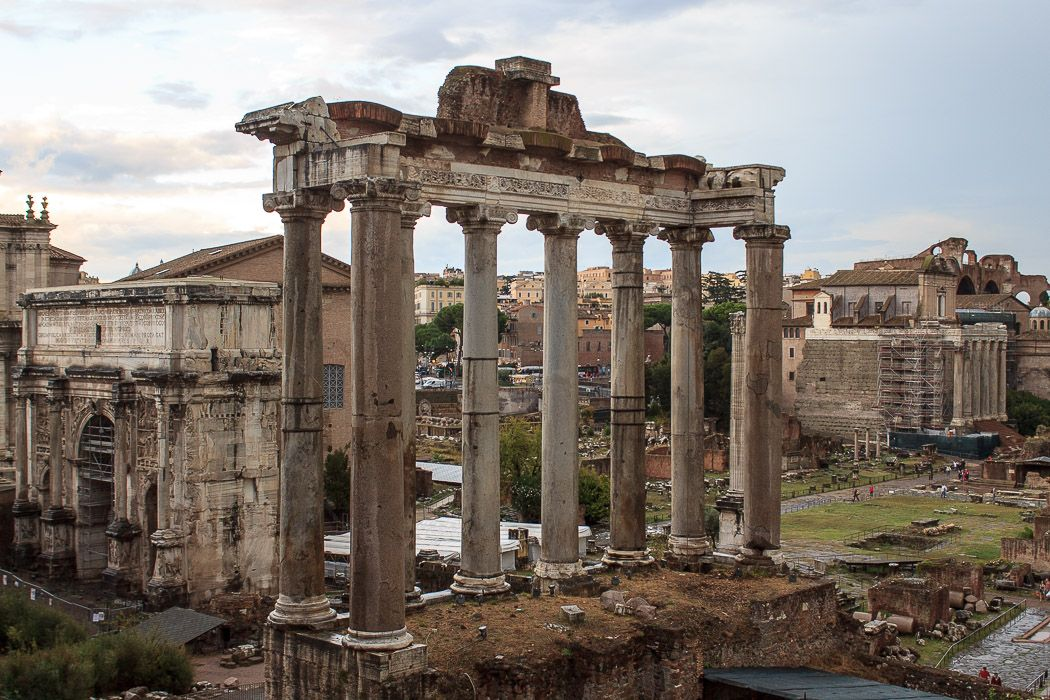 Image result for roman ruins capitoline