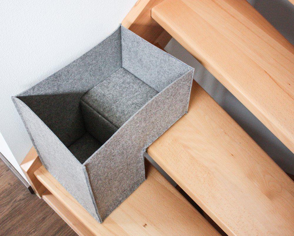 Photo of Inspirationen rund um Baby und Kleinkind – Ordnung mit einem Treppenkorb aus Filz » BERNINA Blog