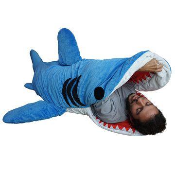 Shark Attack!!! Chumbuddy Sleeping Bag - sweet dreams or