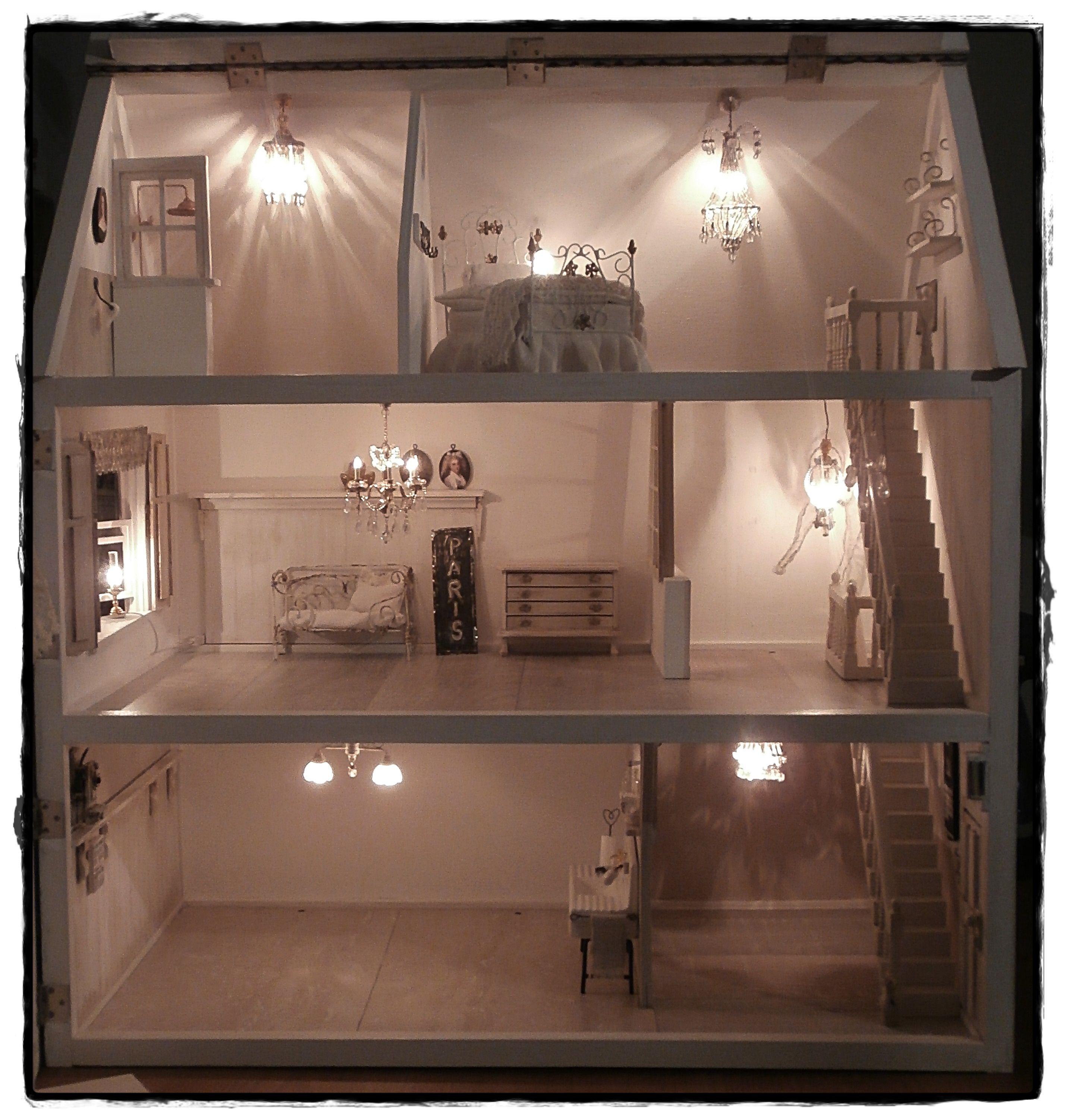 Das Wohnzimmer Puppenhaus Barbie Puppe Haus