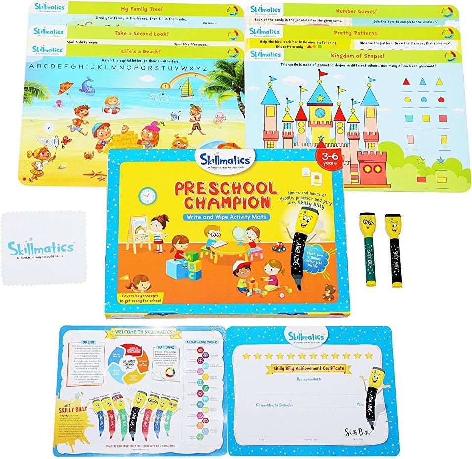 Skillmatics Preschool Champion, available at Market.co.uk