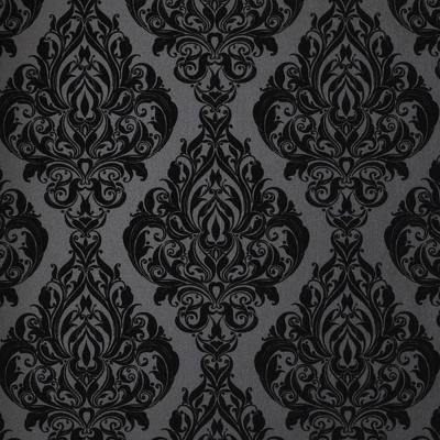 Gothic Wallpaper For Home 56 sq. ft. kinky vintage black wallpaper | black wallpaper