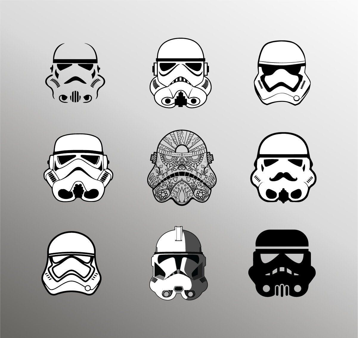 Storm Trooper svg, Star wars svg, Storm Trooper clipart