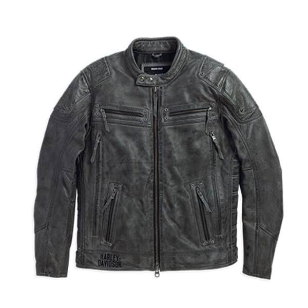 Men's Harley leather jacket