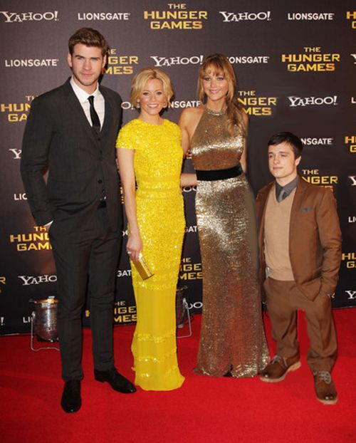 Not funny!! People say Josh is so short, but he's still ...