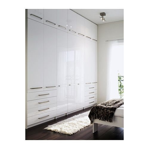 Simple ikea pax wardrobes oh that i had room for this with for Ikea plan dressing