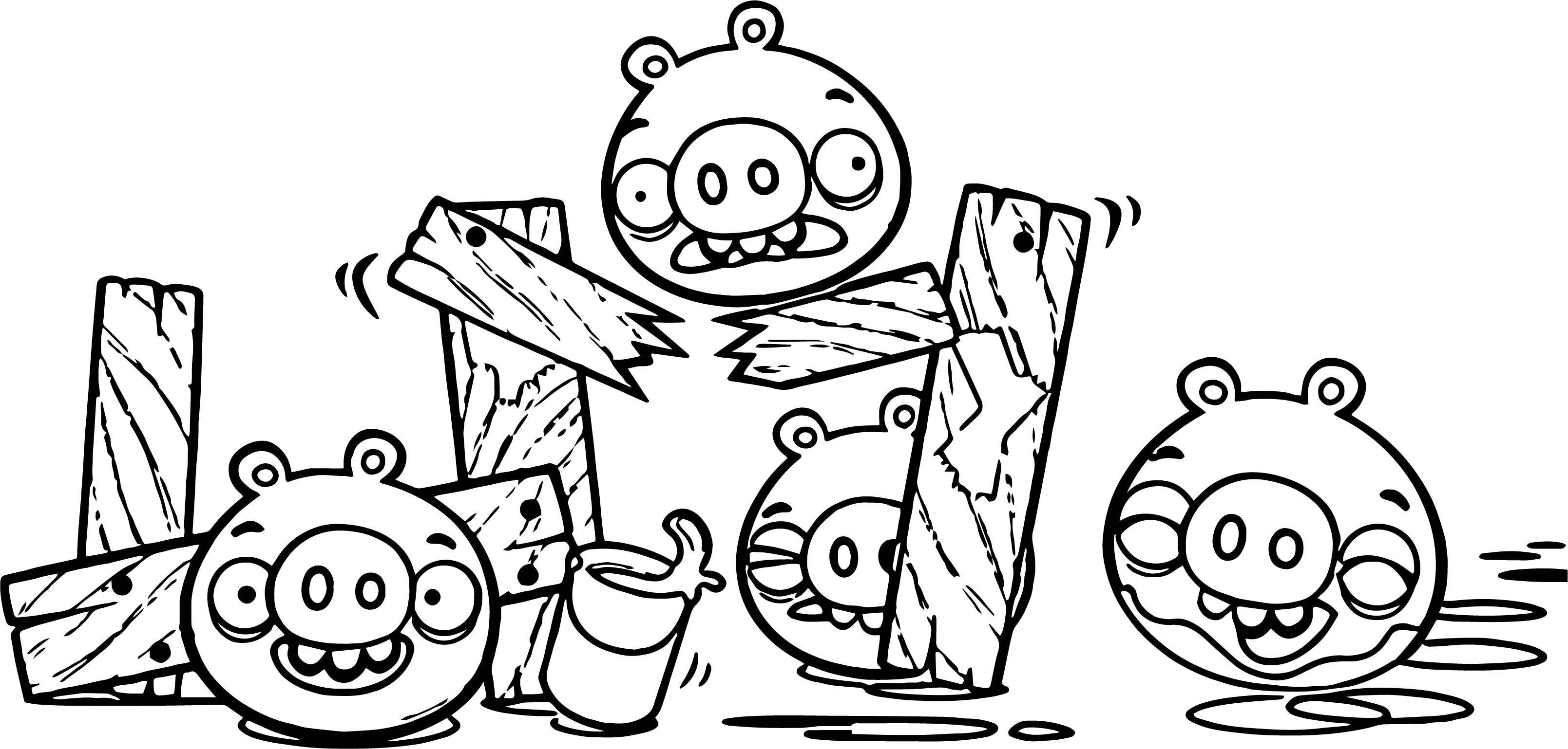Nice Bad Piggies Coloring Page Bird Coloring Pages Cartoon Coloring Pages Coloring Pages To Print