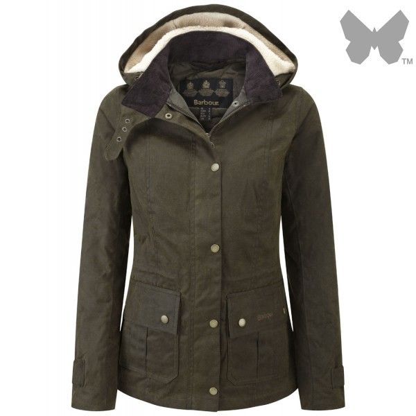 Barbour Ladies  Convoy Jacket – Olive LWX0427OL51 - Ladies  Wax Jackets -  Ladies  Jackets and Coats - WOMEN  5a765442e8c1