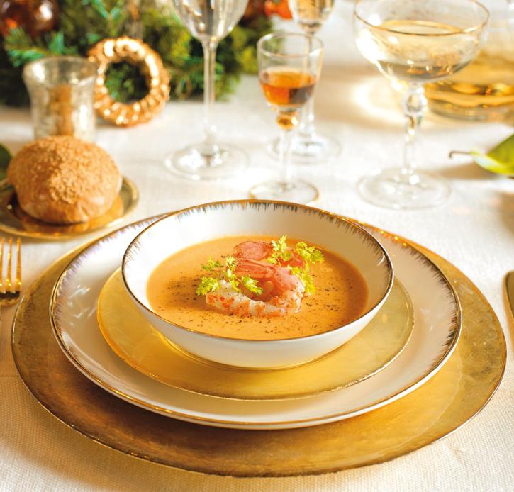 Новогодняя сервировка стола. | Идеи для блюд, Национальная ...