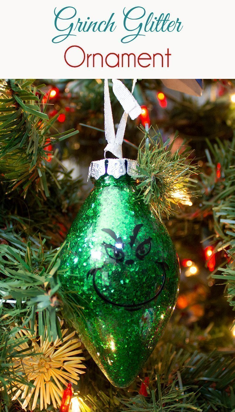 How To Make Glitter Ornaments Mom Of 5 Trying To Survive Glitter Ornaments Glitter Ornaments Diy How To Make Glitter