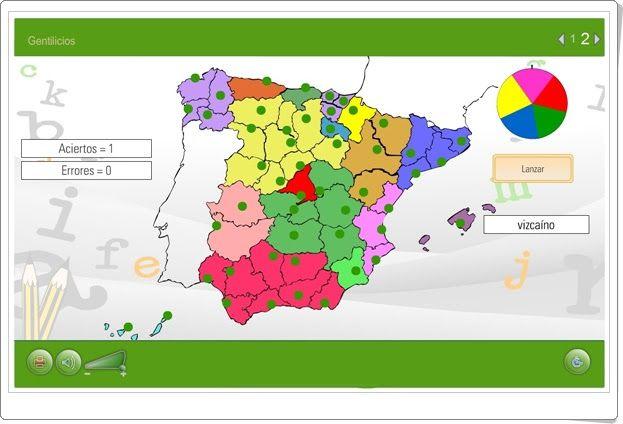 Gentilicios Plataforma Agrega Gentilicios Juegos Educativos Online Nivel De Educación