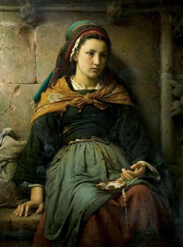 Emile-Auguste Hublin / French,1830 - 1891