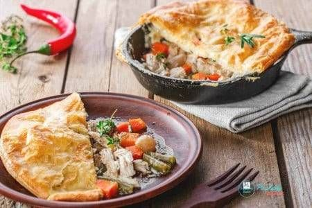 How to Make the Best Chicken Pot Pie In Puff Pastry #frozenpuffpastry