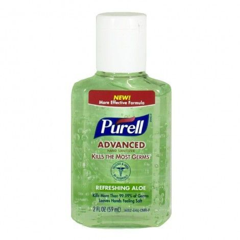 Purell Advanced Hand Sanitizer With Aloe Hand Sanitizer Aloe Hands