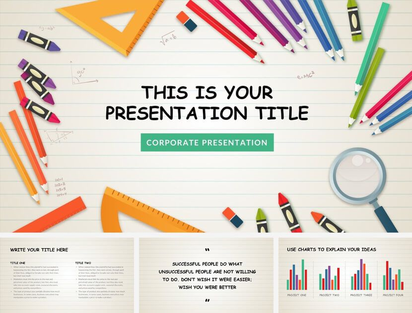 20 Great Free Google Slides And Powerpoint Templates For Teachers School Powerpoint Templates Math Template Math Powerpoint