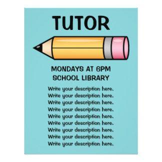 tutor flyer - Google'da Ara | Flyers | Pinterest