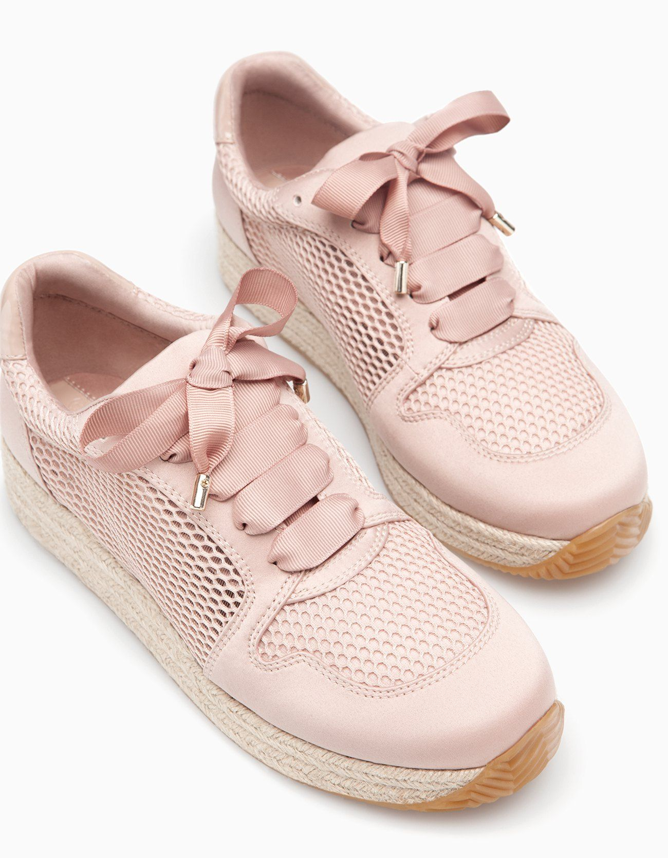 Footwear Denmark All Stradivarius Jute Woman Sneakers Xxq8vnw4UP