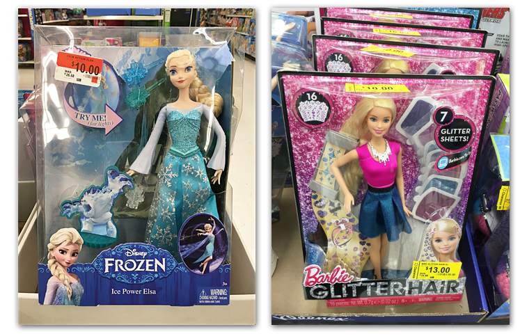 Walmart Toys Clearance : Toy clearance at walmart up to off frozen barbie minions